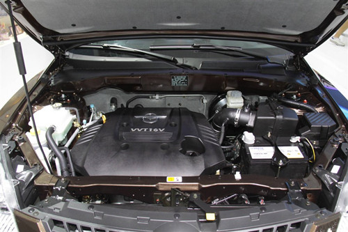 8l发动机,最大功率98kw/6000rpm,最大扭矩168n•m/4200-4400rpm
