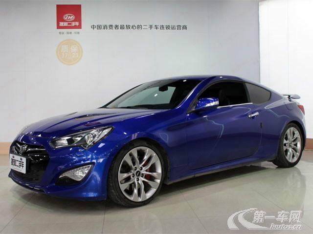 韩系跑车 现代劳恩斯酷派高清图片