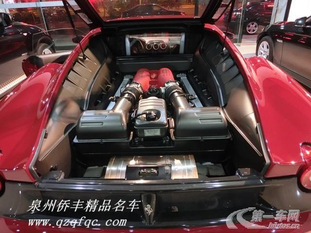 法拉利f430标志着全新一代法拉利v8发动机双门跑车的诞生,高清图片