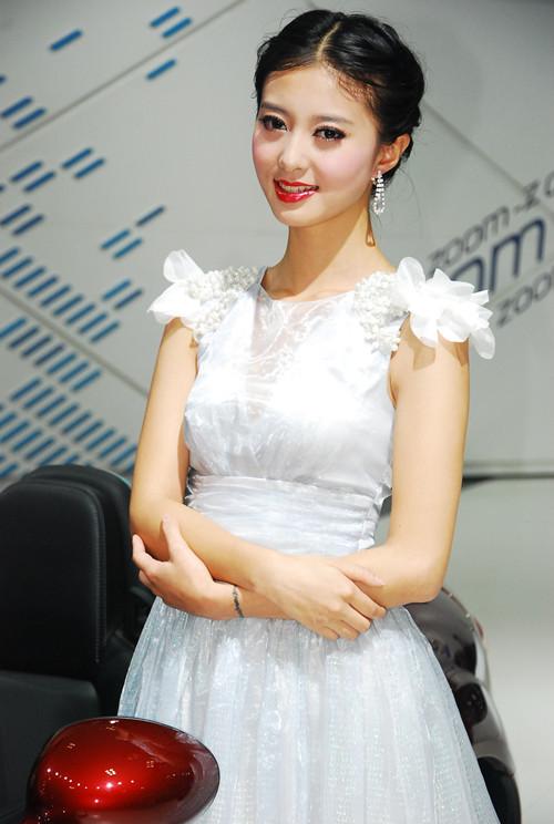 2013重庆车展车模组图五