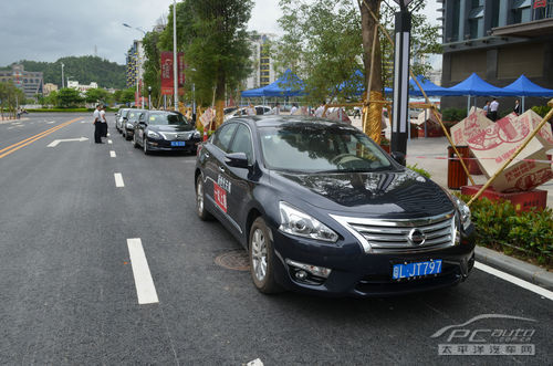 惠州东风日产 新世代 天籁媒体试驾会图片