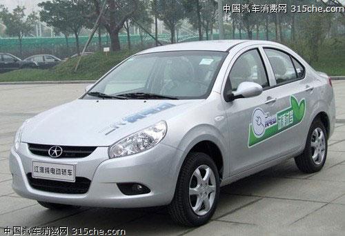 纯电动车型之江淮同悦高清图片