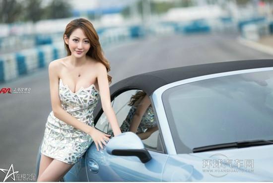 美光中国助力车模之星
