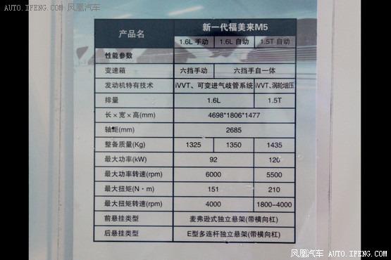 全新 海马m5 将于5月上市 预售8万元起 新车价高清图片