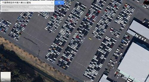 停在日本最大二手车市场上的稀罕货… - 活力阅