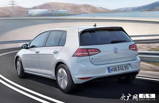 大众纯电动车型e golf上市 3.49万欧起高清图片