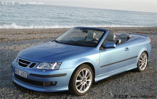 召回车型   部分2006年款至2009年款进口萨博9-3敞蓬版汽高清图片
