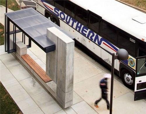 公交车站的设计吧